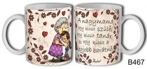 Ajándék Nagymamának, bögre