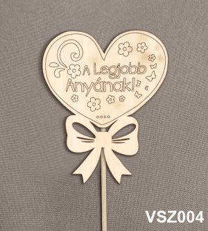 Ajándék anyának, virág dekoráció