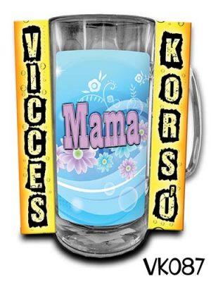 Anyák napi ajándék, korsó